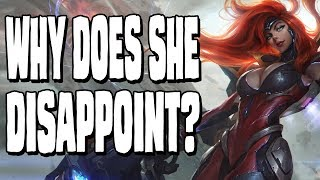Why did Gun Goddess Miss Fortune disappoint?
