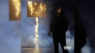J. Cole - 1 0 0 . m i l '  feat. Bas (Official Audio)