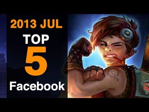 Best 5 Facebook Games for July 2013