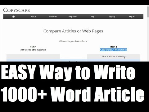 How to Create 1000+ Words Article Content EASY! With PLR Art