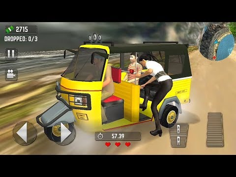 Offroad Tuk Tuk Hill Game | Tourist Auto Rickshaw Game - Tuk Tuk Auto Rickshaw Game - kids