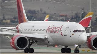 90 Minutes of Plane Spotting at Madrid Barajas Airport, MAD | 13-02-18