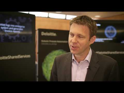 Benefits of robotic process automation for global business services leaders | David Wright