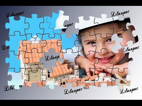 Tutorial Photoshop Español Efecto Puzzle En Fotos Youtube