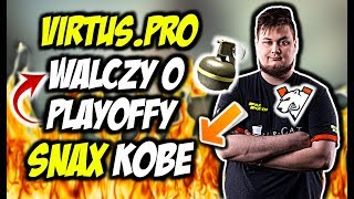 VIRTUS PRO W WALCE O PLAYOFFY SUMMER SMASH SNAX KOBE SNATCHIE AWP GOD CSGO BEST MOMENTS
