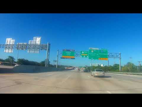 Driving from Miami to Hollywood Florida