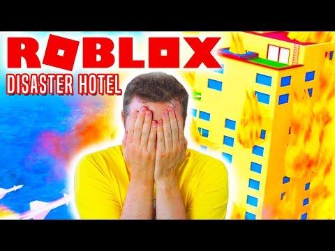 COMKEANS VÆRSTE FERIE! - Roblox Disaster Hotel Dansk