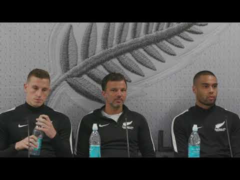 All Whites - World Cup Qualifier Intercontinental Playoff Pre-match Press Conference