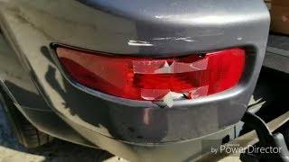 Быстрый ремонт бампера, Mitsubishi Outlander XL Pan Zmitser