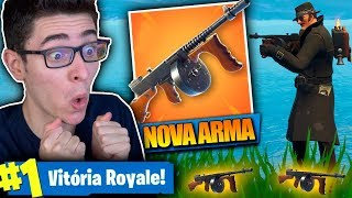 ENCONTRE  A NOVA METRALHADORA DE TAMBOR E MATE  GERAL Fortnite Battle Royale