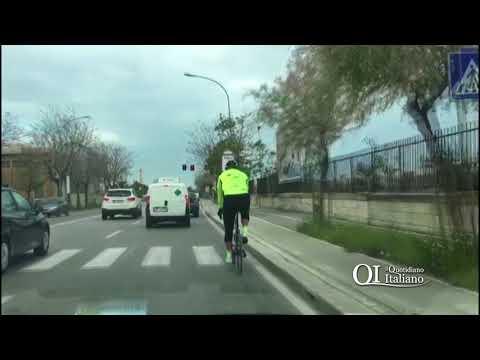 Bari, tante piste ma i ciclisti non le usano