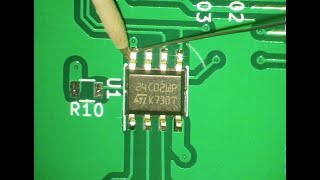 Making of... the PCB - SMD soldering (PWJ88)