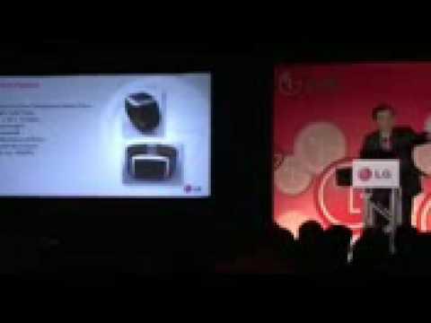 LG GD910 3G Touchscreen phone on wrist