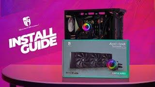 HOWTO Deepcool Castle 360EX AMD AM4 Installation