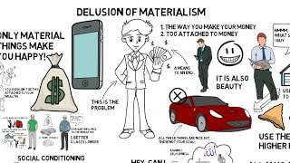 HOW MATERIALISM DELUDES YOU - Nouman Ali Khan Animated
