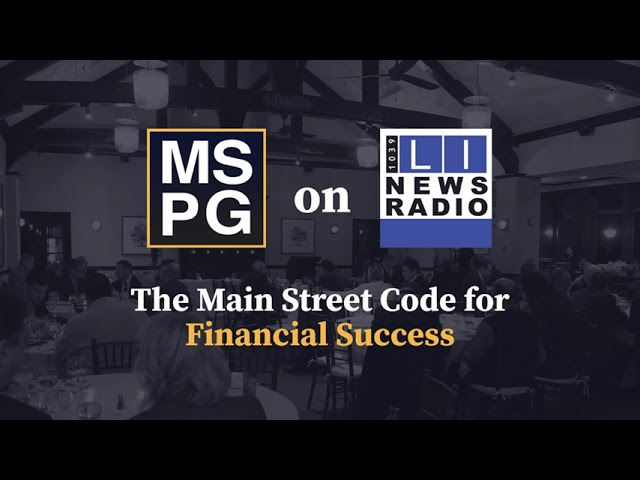 The Main Street Code for Financial Success - August 27th, 2021
