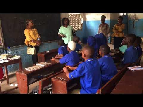 Sierra Leone Vlog 17-18     Hizbullah islamic primary school  2 Ep 17