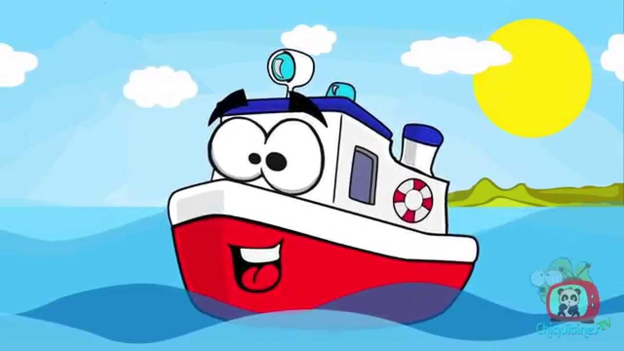 Un barco chiquitito ♫ canciones infantiles ♫ Español - YouTube