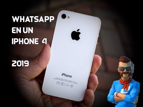 como instalar whatsapp en iphone 4  - 2019