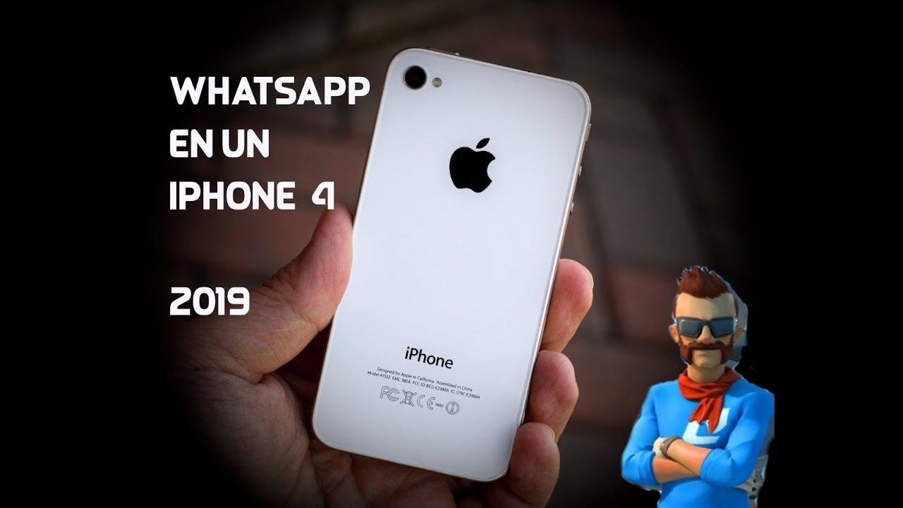 instalar whatsapp gratis iphone 4s
