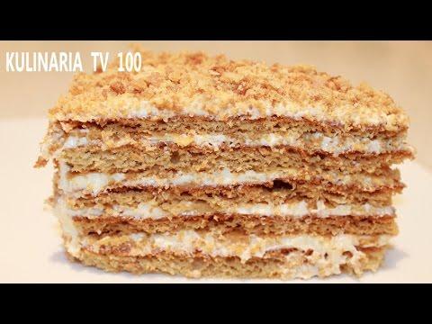 Торт Рыжик - Медовый Торт Рыжик
