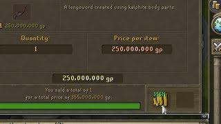 1 item flip - 105M profit