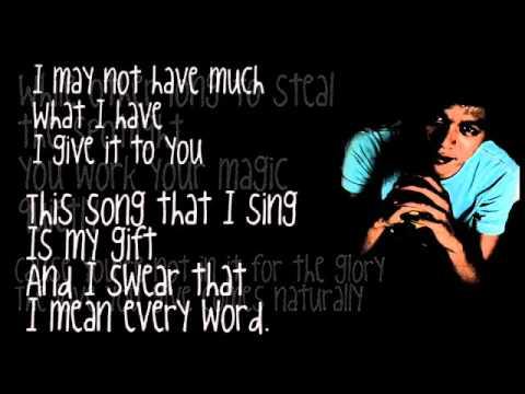 Lyrics to song hero