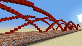 Infinite Sand Wave in Minecraft!