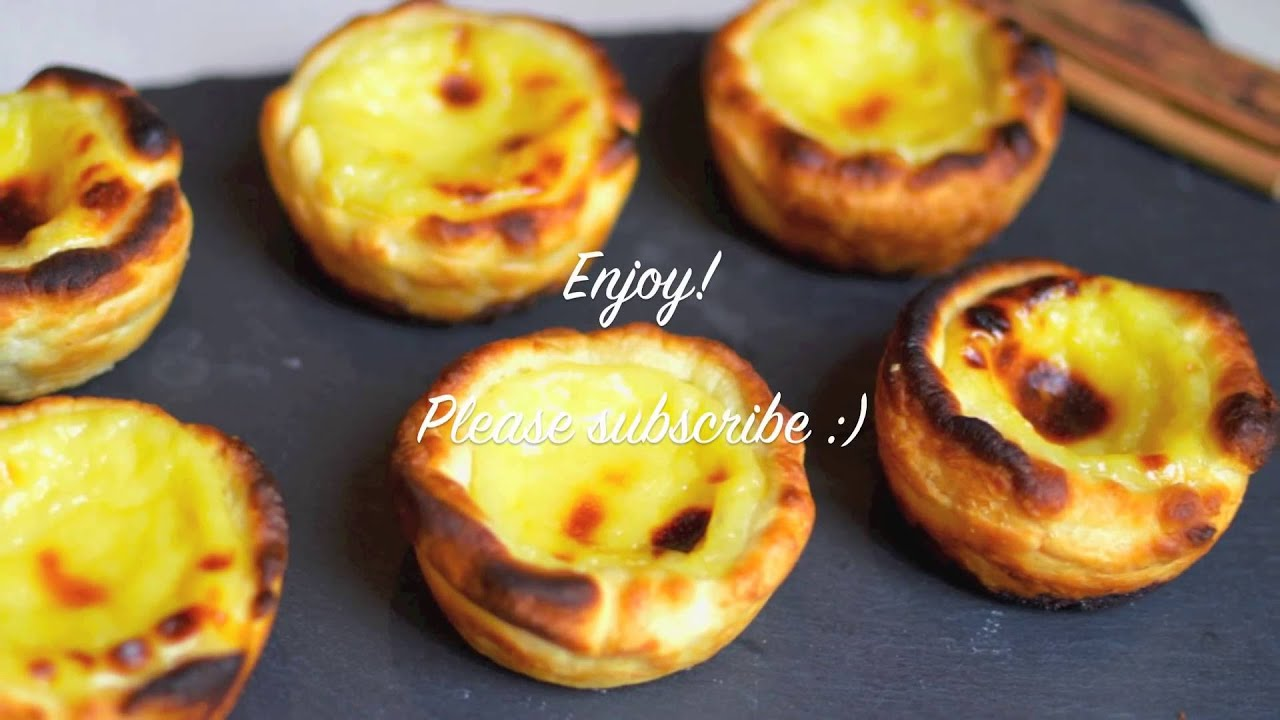 How to make portuguese natas itsallaboutportugesedeserts - Easy Recipe How To Make Pasteis De Nata Portuguese Egg Tarts Youtube