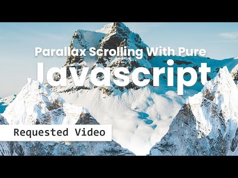 Parallax Scrolling Effects | Html CSS & Javascript