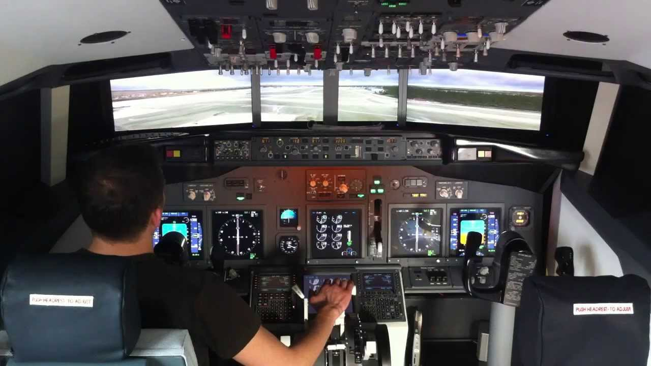 Boeing 737 Home Cockpit Youtube