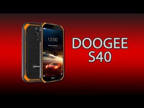 Doogee S40 - обзор защищённого смартфона!