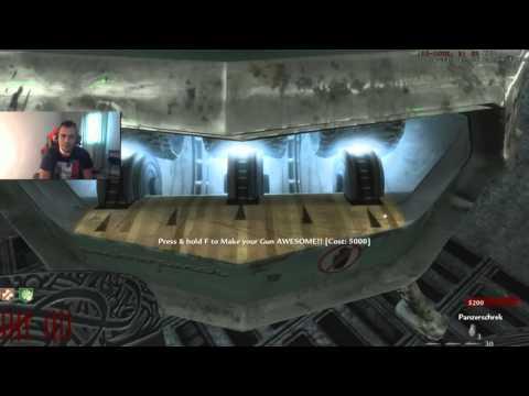 Custom Map Zombie #71 : Toute les armes du coffre coller au mur !!