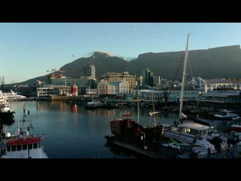 Waterfront harbour Capetown South Africa