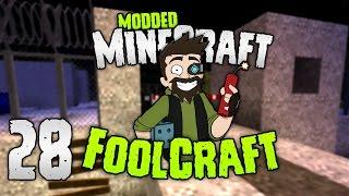 Minecraft: FOOLCRAFT | The set up! 🕵 | #28 | Modded Minecraft