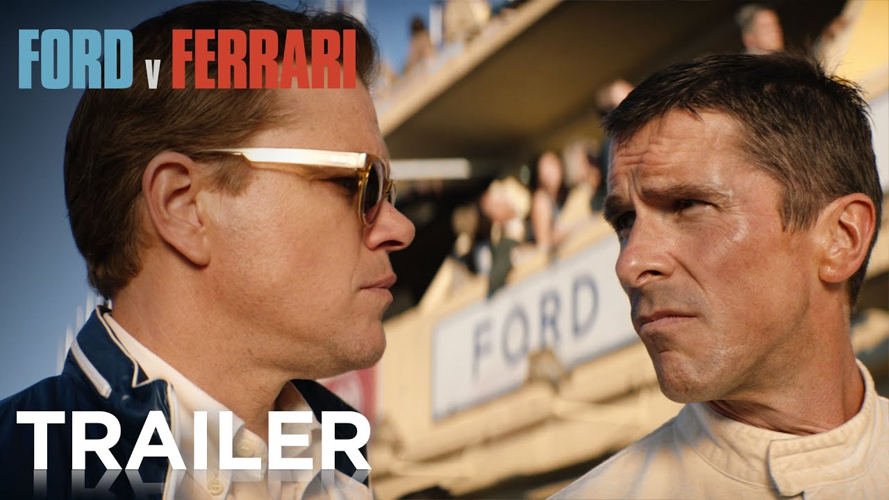 Ford v. Ferrari - Official Trailer 2 (2019) Matt Damon, Christian Bale Video Thumbnail