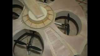 Quadcopter Flying Saucer Part2