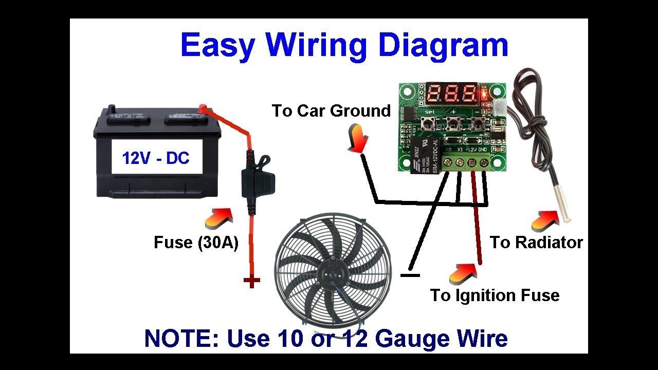 easy radiator clutch fan to electric fan conversion diagram chevy blazer s10 4 3l engine [ 1280 x 720 Pixel ]