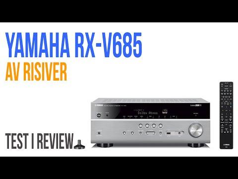Yamaha RX-V685 risiver - Test i review - YouTube
