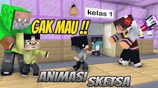 Lucu Erpan Liburan Sekolah Selesai Masuk Lagi Kocak Animasi Minecraft Indonesia