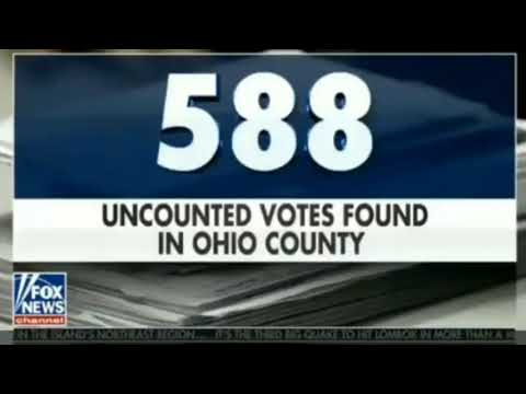 Ohio Finds More Uncounted Votes & May Trigger Recount
