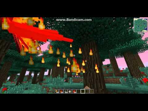 Minecraft 1.4.7 v2  โลกเเสนโหดร้าย