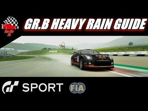 GT Sport FIA Nations Guide ⮕ GR.B Redbull Ring Heavy Rain
