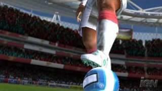 Fifa 08 Wii Version (Arsenal Attacks)