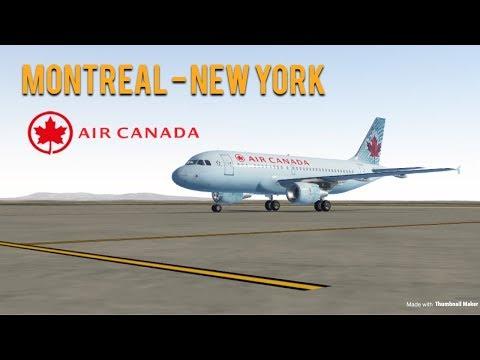 YUL - KJFK (A319)   Infinite Flight