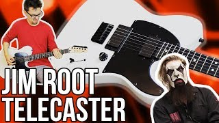 Fender Jim Root Telecaster Demo/Review    A Telecaster Built for Metal!!