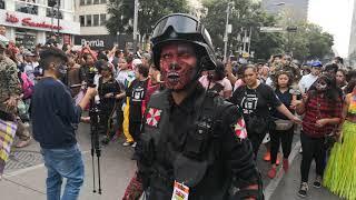 Marcha Zombie CDMX 2018 3ra. Parte