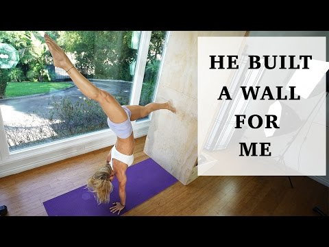 HE BUILT A WALL FOR ME | My week in a nutshell