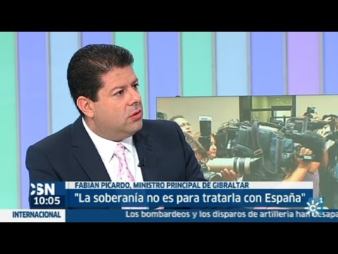 La entrevista | Fabian Picardo, ministro Principal de Gibraltar