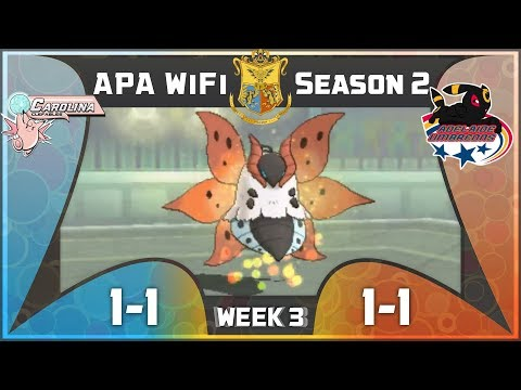 APA Wifi Season 2 Week 3: Carolina Clefables vs Adelaide Umbreons: Quiver Dancin!